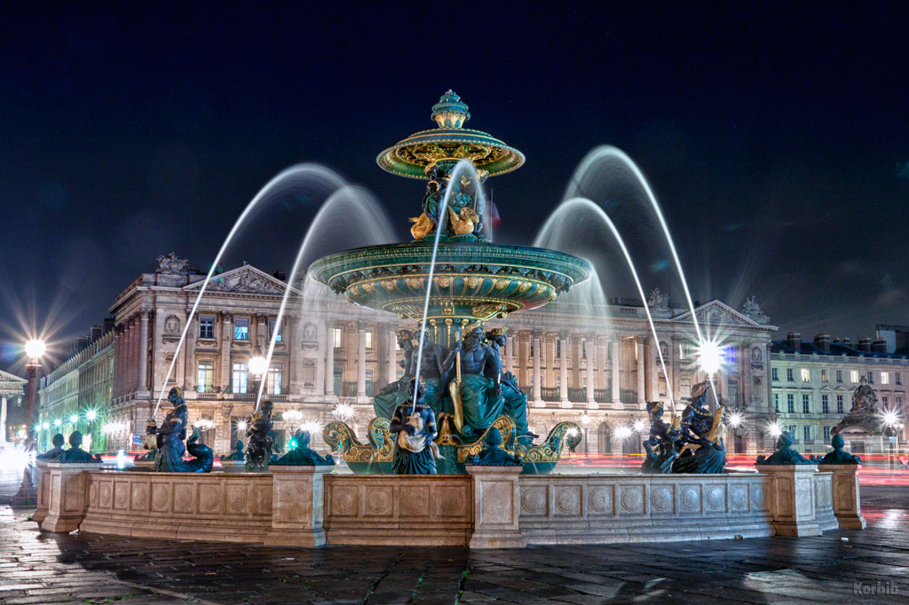 La fontaine des fleuves