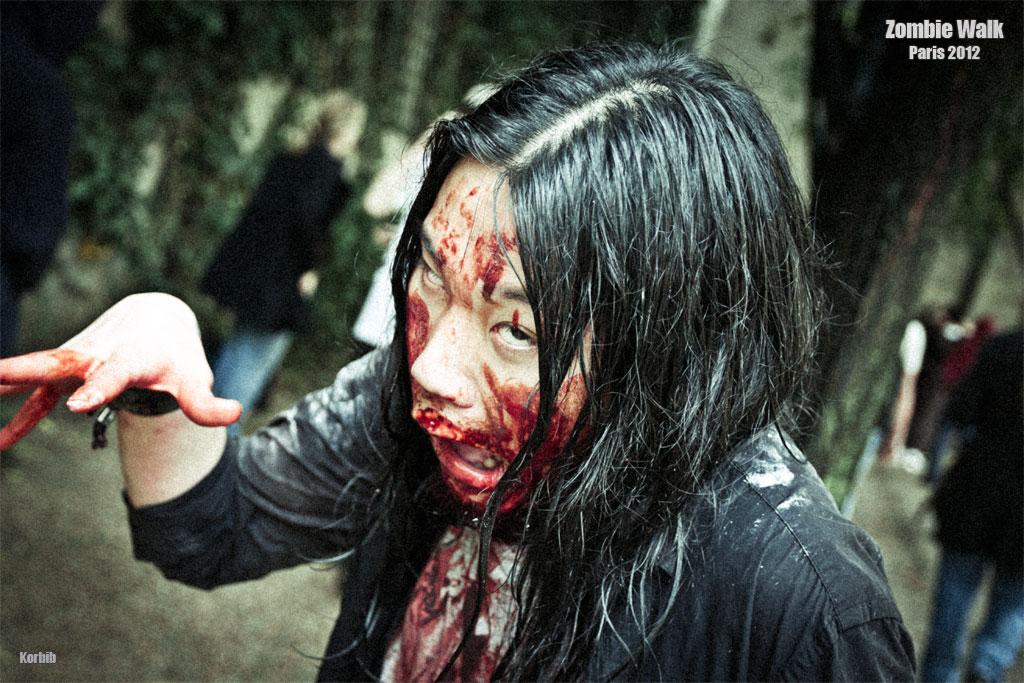 Zombie walk paris 2012